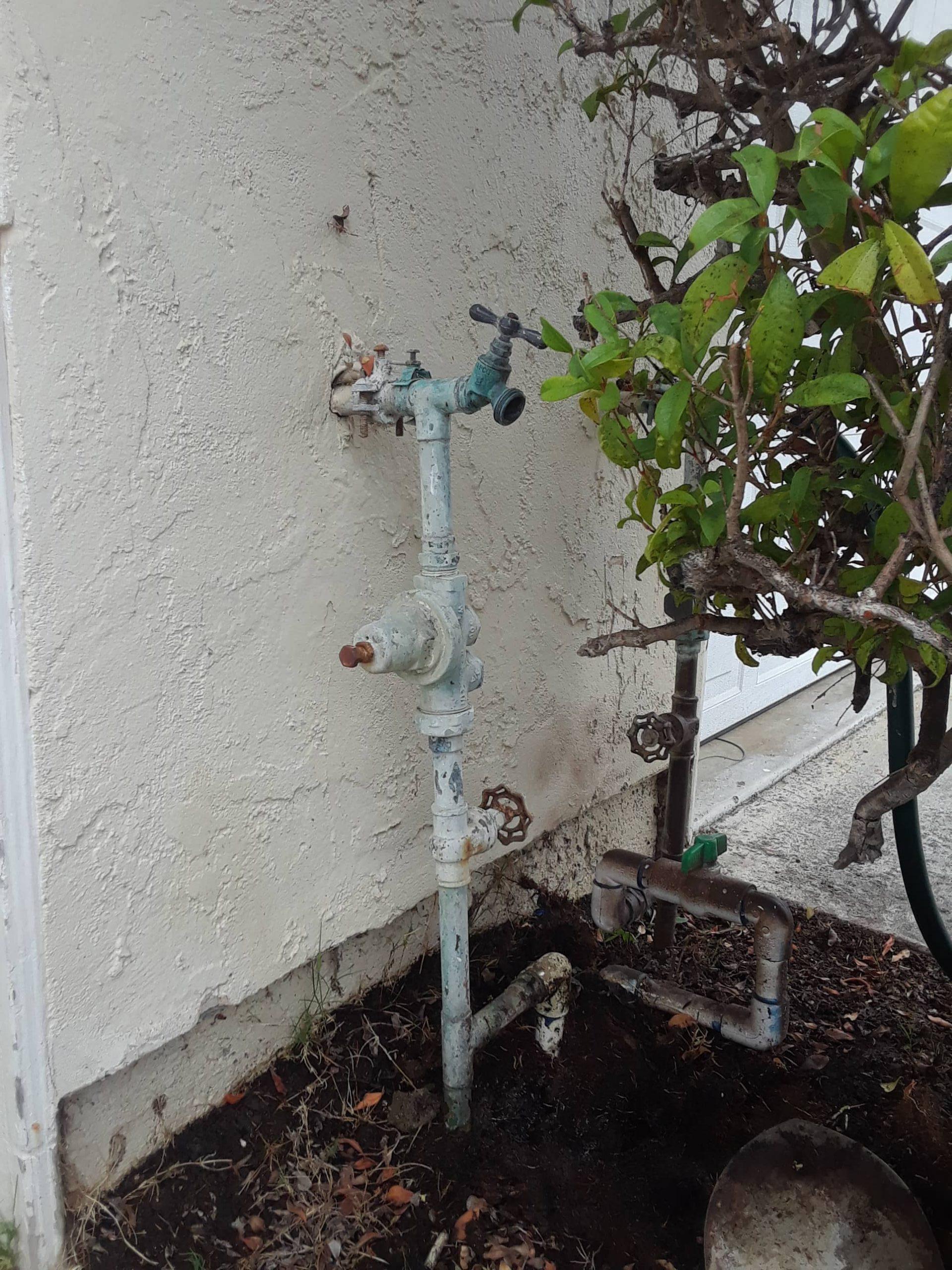 Damaged hose pipe